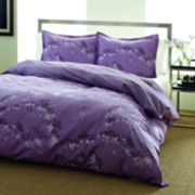 City Scene Blossom Duvet Cover Set