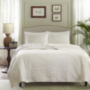 Madison Park Norfork 3-pc. Quilted Coverlet Set