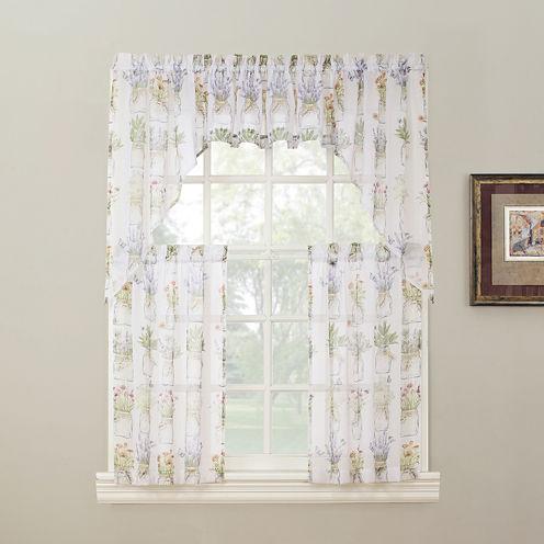 Eve's Garden Kitchen Curtains