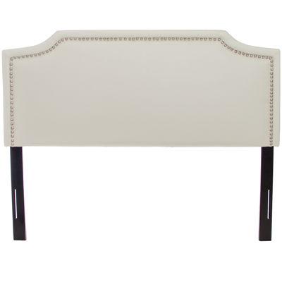 juliette full/queen upholstered headboard with nailhead trim, Headboard designs