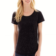 i jeans by Buffalo Short-Sleeve Sequin T-Shirt