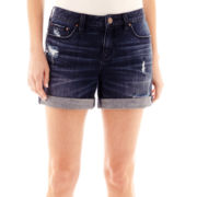 a.n.a® Roll-Cuff Denim Boyfriend Shorts