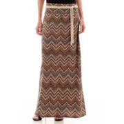Alyx® Print Maxi Skirt with Belt