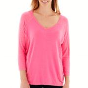 Stylus™ 3/4-Sleeve Raglan T-Shirt - Tall