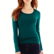 Stylus™ Long-Sleeve Crewneck T-Shirt - Tall