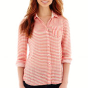 Stylus™ Long-Sleeve Relaxed-Fit Shirt - Tall