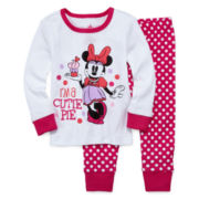 Disney Baby Collection Minnie Mouse Pajamas - Baby Girls newborn-24m