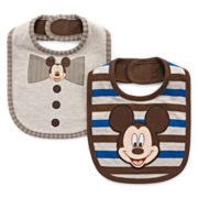 Disney Baby Collection Mickey Mouse 2-pk. Bib Set