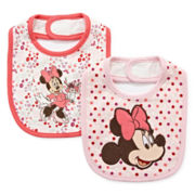 Disney Baby Collection Minnie Mouse 2-pk. Bib Set