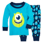 Disney Baby Collection Monsters, Inc. Mike Pajamas - Baby Boys newborn-24m