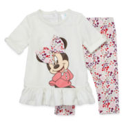 Disney Baby Collection Minnie Mouse 2-pc. Set - Baby Girls newborn-24m
