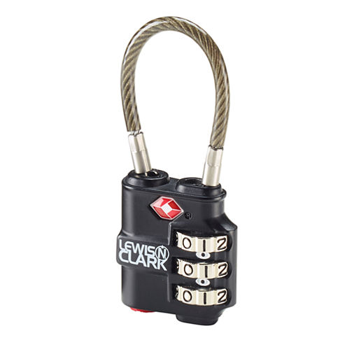 Travel Sentry Indicator Cable Lock
