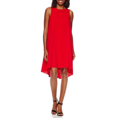 jcpenney.com | Sharagano Sleeveless High-Low Shift Dress