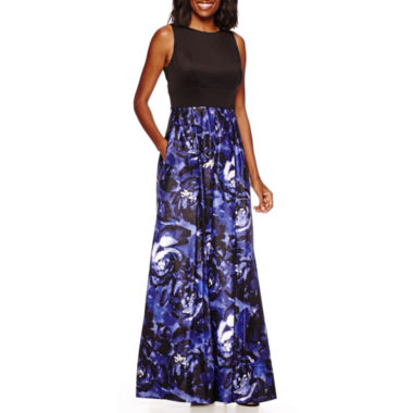 jcpenney.com | Signature by Sangria Sleeveless Printed Formal Gown