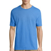 St. John's Bay® Short-Sleeve Heather Tee
