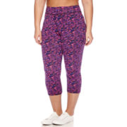 City Streets® Performance Cropped Leggings - Juniors Plus