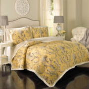 Historic Charleston Collection™ Cecelia Reversible 3-pc. Quilt Set