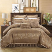 Chic Home Como 9-pc. Jacquard Comforter Set