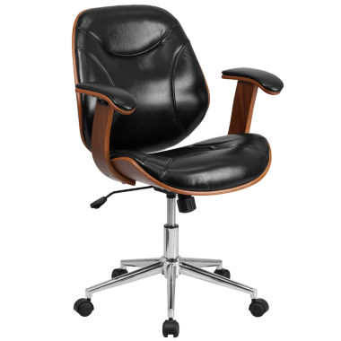 jcpenney.com | Mid Back Leather Office Chair