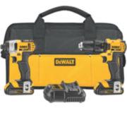 DeWALT 20-Volt MAX Lithium Ion Compact Drill/Driver Combo Kit