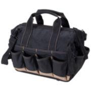 Custom LeatherCraft 14-Pocket Large Tray Tote Bag