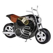 DecoBreeze™ Motorcycle Figurine Fan