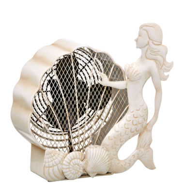 jcpenney.com | DecoBreeze™ Mermaid Figurine Fan