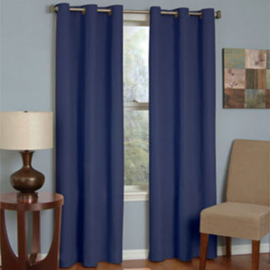 jcpenney.com | Eclipse® Microfiber Grommet-Top Blackout Curtain Panel