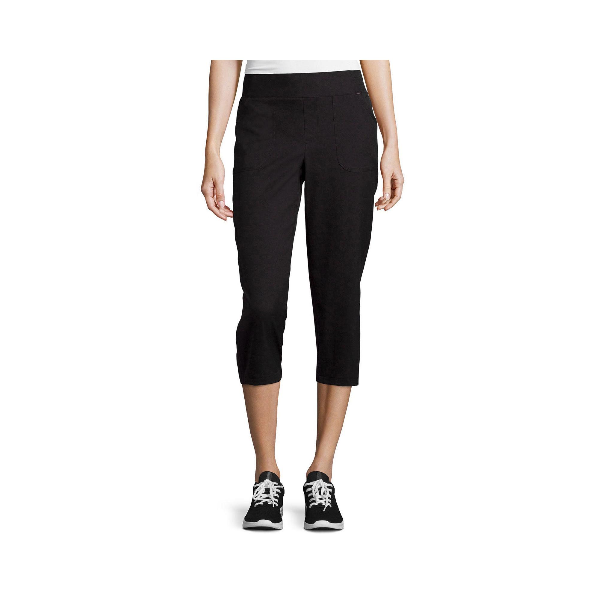 Made for Life™ Cinched-Leg Capri Pants plus size,  plus size fashion plus size appare