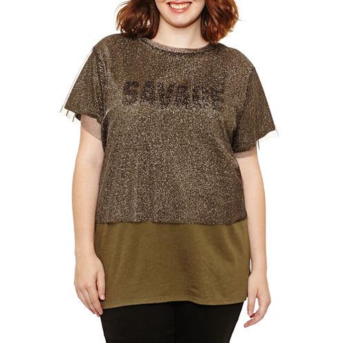 Arizona Short Sleeve Round Neck Graphic T-Shirt
