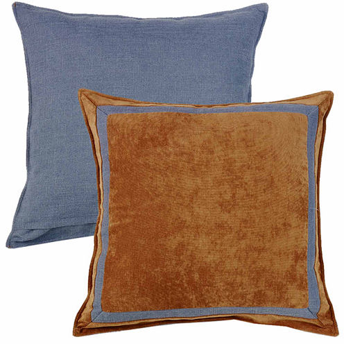 Hiend Accents 27x27 Reversible Framed Euro Sham