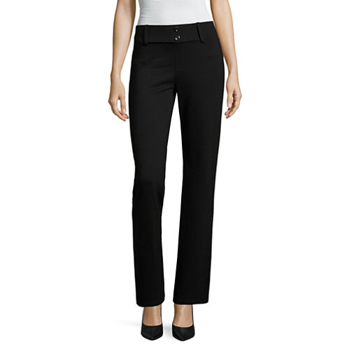 Alyx Boot Cut Fit Ponte Pull-On Pants