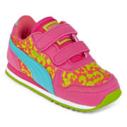 Puma® Cabana Racer  Girls Athletic Shoes - Toddler