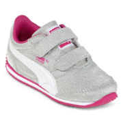 Puma® Steeple Glitz  Girls Athletic Shoes - Toddler