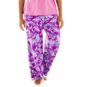 Liz Claiborne Knit Sleep Pants - Plus