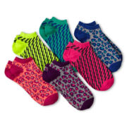 Xersion™ 6-pk. No-Show Socks - Girls