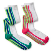 Xersion™ 2-pk. Knee-High Socks - Girls