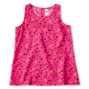 Total Girl® Woven Tank Top - Girls 6-16 and Plus