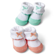 Carter's® Infant Girls 2-pk. Keepsake Sneakers