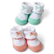 Carter's® Infant Girls 2-pk. Keepsake Sneakers