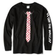 Vans® Tied Long-Sleeve Graphic Tee - Boys 8-20