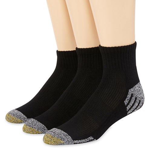 Gold Toe® G-Tec 3-pk. Outlast® Quarter Socks