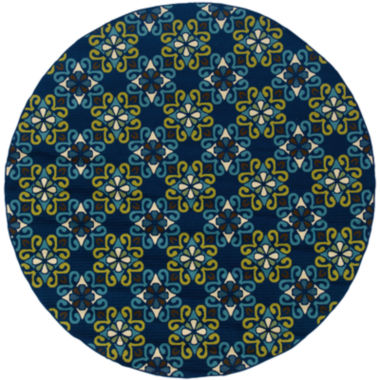 jcpenney.com | Covington Home Country Cross Indoor/Outdoor RoundRug