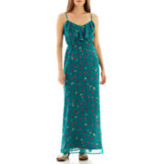 I 'Heart' Ronson® Floral Maxi Dress
