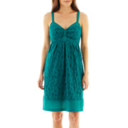 I 'Heart' Ronson® Eyelet Dress