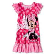 Disney Pink Minnie Nightshirt - Girls 2-10