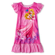 Disney Collection Aurora Nightshirt - Girls 2-10