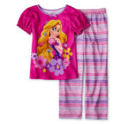 Disney Collection Rapunzel 2-pc. Pajamas - Girls 2-10