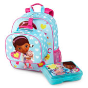 Disney Doc Backpack and Accessories