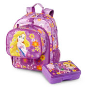 Disney Rapunzel Backpack and Accessories